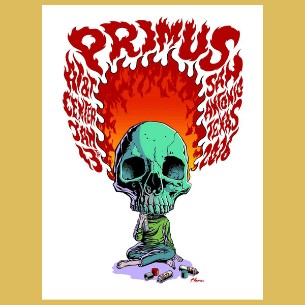 PRIMUS - Jan 13th 2016 - San Antonio, TX Poster