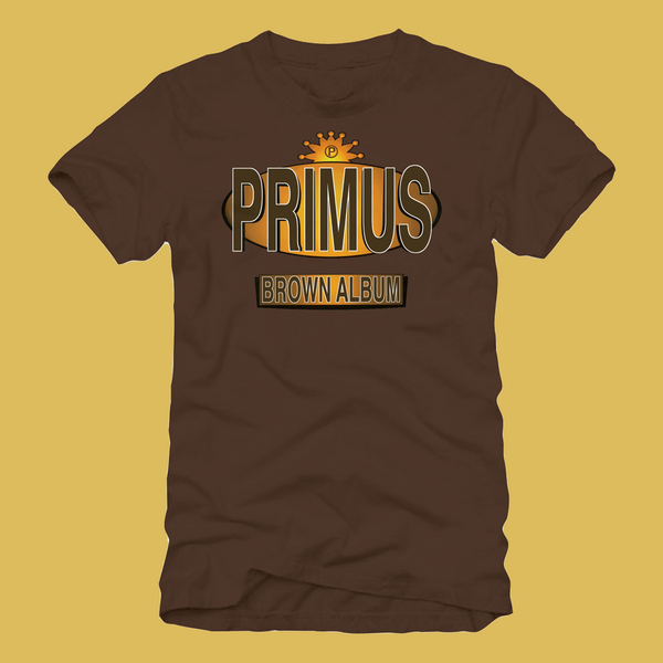 Primus - Brown Album T-Shirt 2018