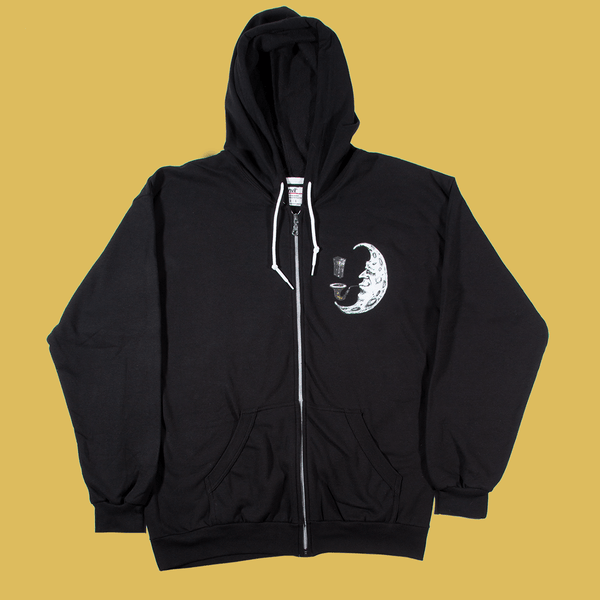 CLD - Moonman Zip-Up Hoodie