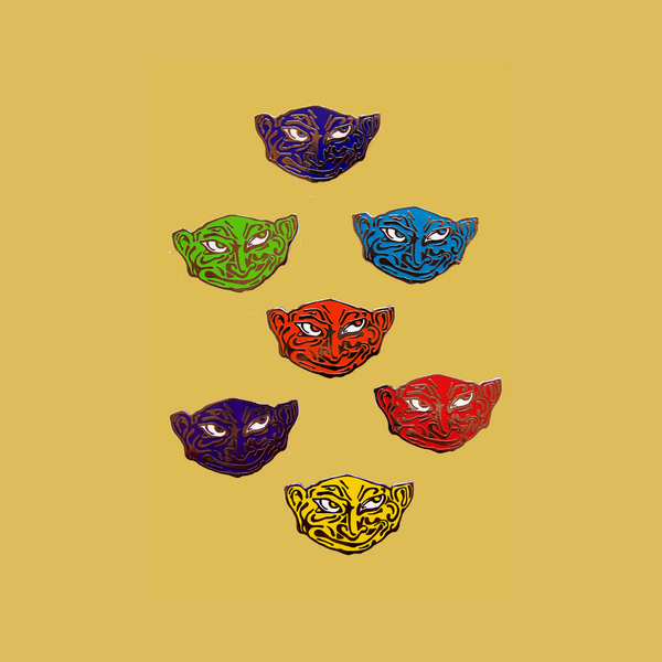 Goblin Pin - Assorted Colors
