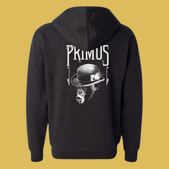 Primus - Unisex Monkey Hoodie (Charcoal Heather)