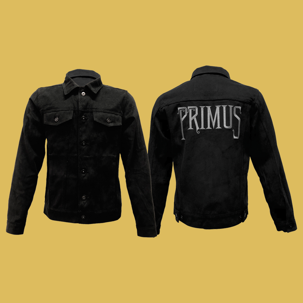 Primus- Black Denim Jacket