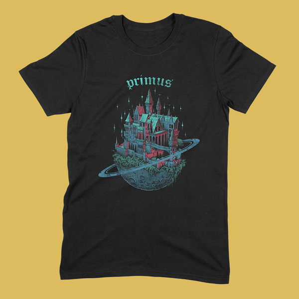 PRE-ORDER: PRIMUS - Space Castle T-Shirt