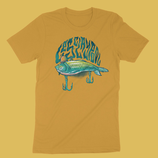 Les Claypool - Slappin Bait Yellow T-Shirt