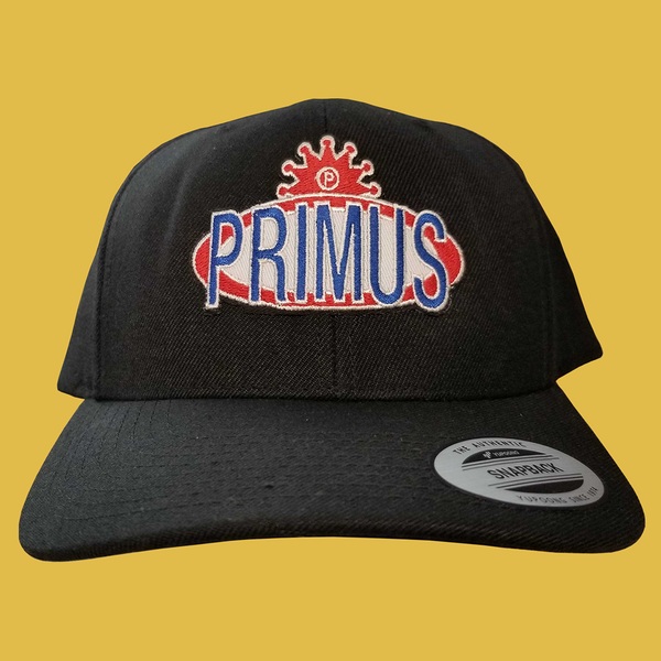 PRIMUS - Logo Patch Hat (Black)