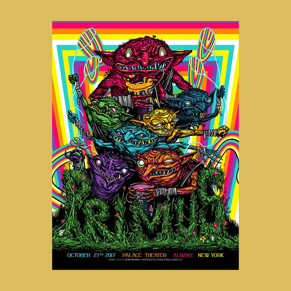 PRIMUS - Oct 27th 2017 - Albany, NY Poster