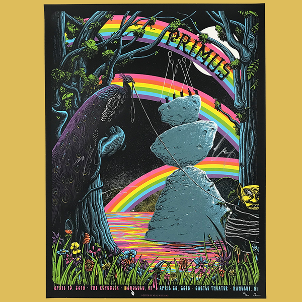 Primus - April 19 & 20, 2018 - Hawaii Poster