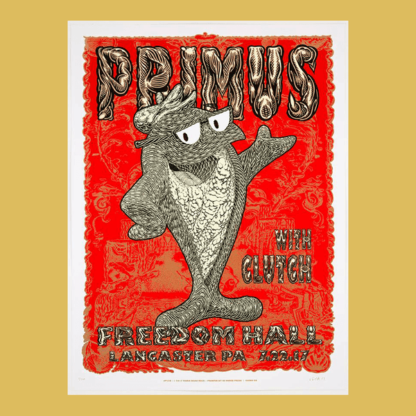 PRIMUS - July 22nd 2017 - Lancaster, PA Poster