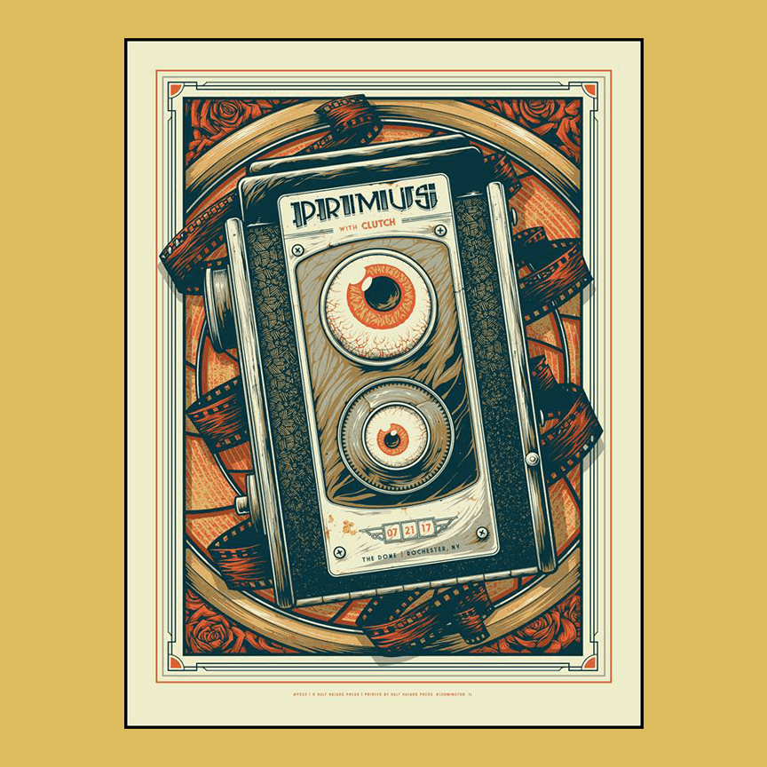 PRIMUS - July 21st  2017 - Rochester, NY Poster