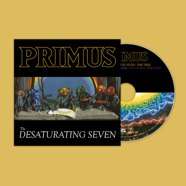 PRIMUS: The Desaturating Seven CD