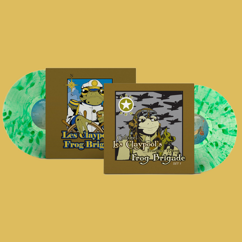 Les Claypool's Frog Brigade - Live Frogs Sets 1 & 2 (Green Splatter Vinyl)