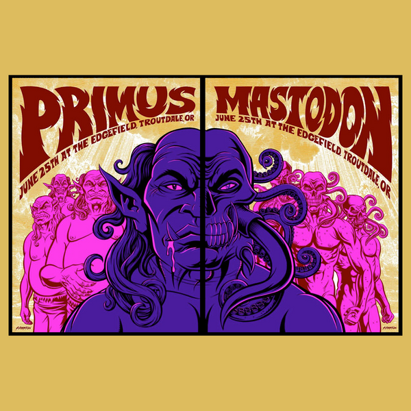Primus - Edgefield Poster (Diptych)