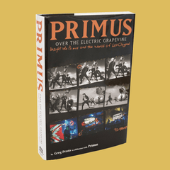 PRIMUS - Over the Electric Grapevine Book