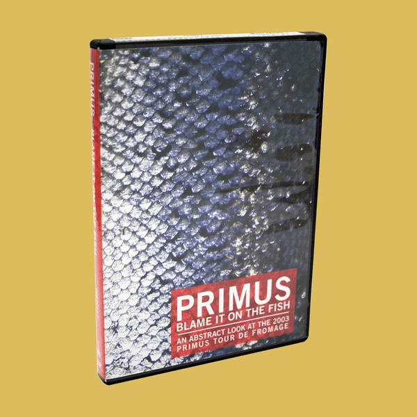 PRIMUS - Blame It On the Fish DVD