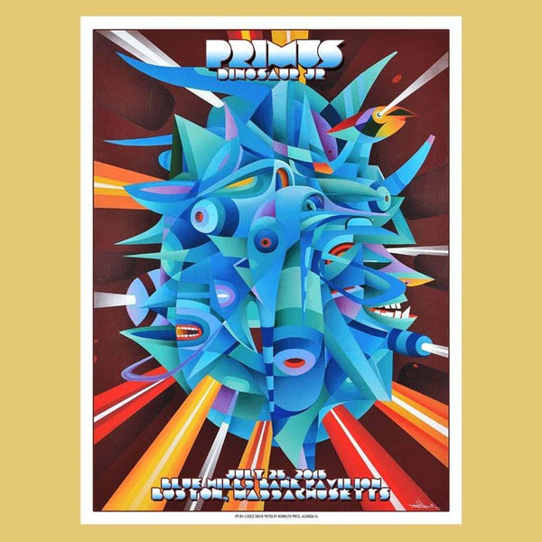 PRIMUS - Jul 25th 2015 - Boston, MA Poster