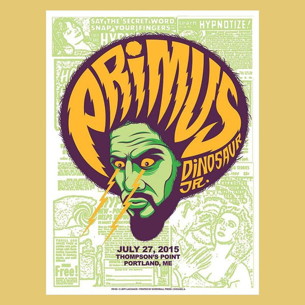 PRIMUS - Jul 27th 2015 - Portland, ME Poster