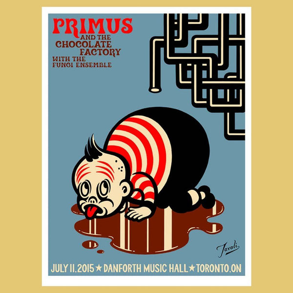 PRIMUS - Jul 11th 2015 - Toronto, Canada Poster