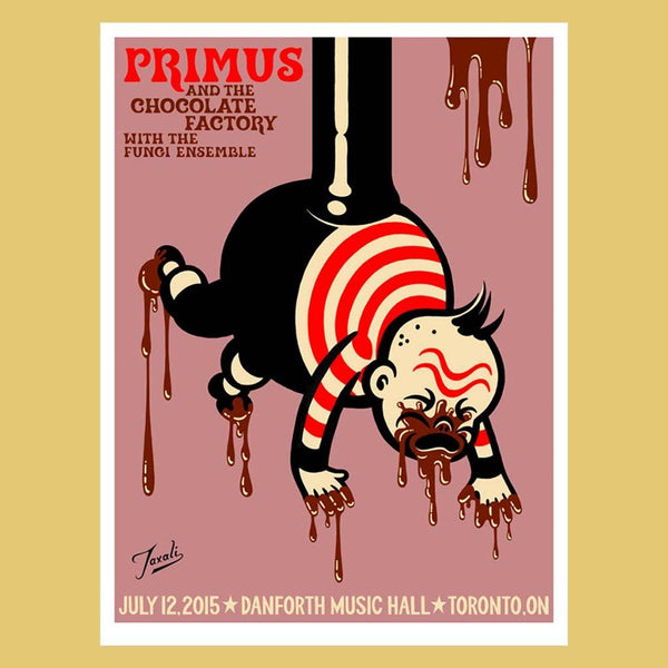 PRIMUS - Jul 12th 2015 - Toronto, Canada Poster