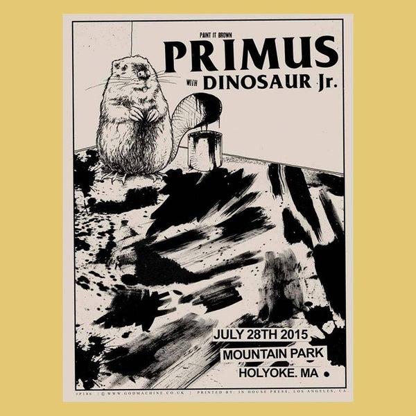 PRIMUS - Jul 28th 2015 - Holyoke, MA Poster