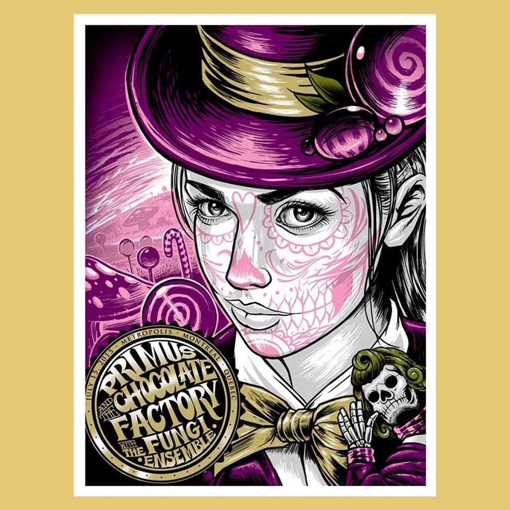 PRIMUS - Jul 15th 2015 - Montreal, Quebec Poster