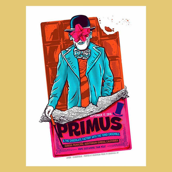 PRIMUS - Sep 17th 2015 - Eureka, CA Poster