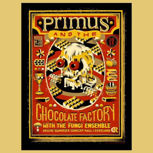 PRIMUS - Jan 2nd 2015 - Portland, OR Poster