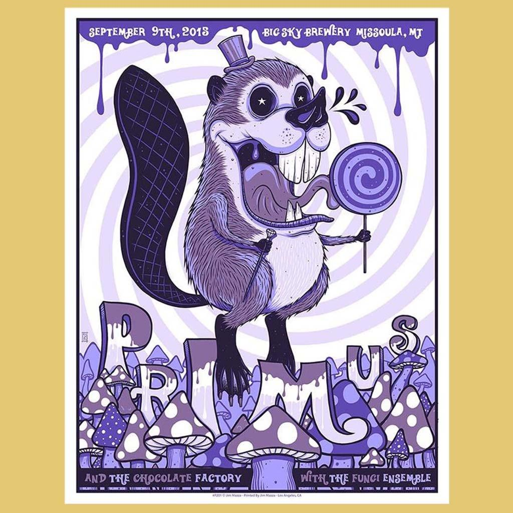 PRIMUS - Sep 9th 2015 - Missoula, MT Poster