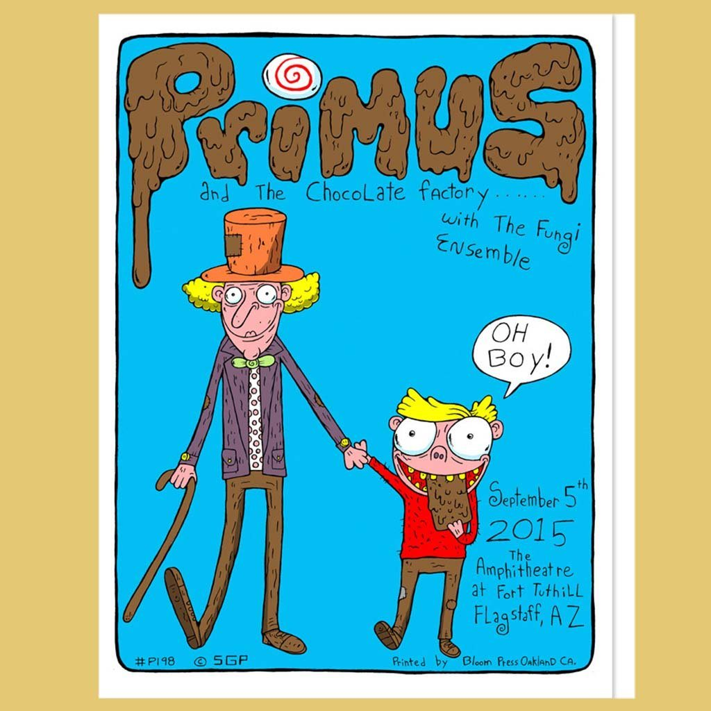 PRIMUS - Sep 5th 2015 - Flagstaff, AZ Poster