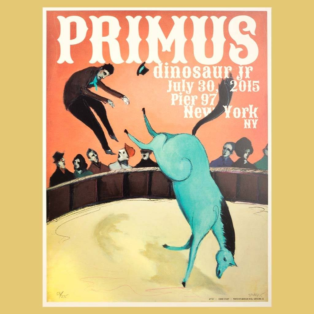 PRIMUS - Jul 30th 2015 - New York, NY Poster