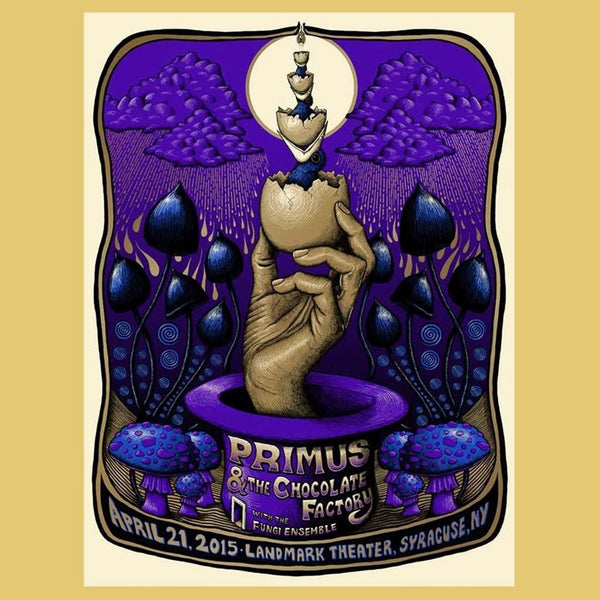 PRIMUS - Apr 21st 2015 - Syracuse, NY Poster