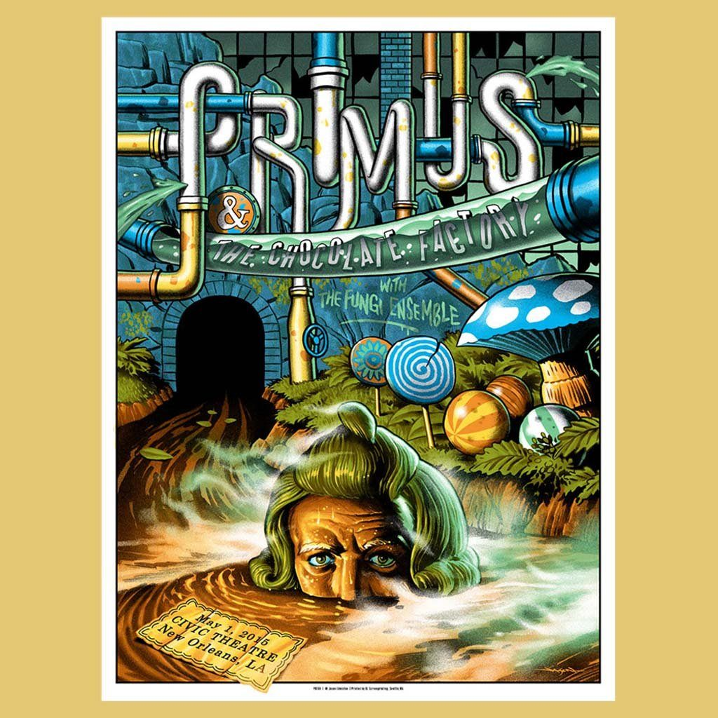 PRIMUS - May 1st 2015 - New Orleans, LA Poster