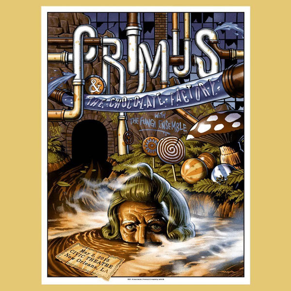 PRIMUS - May 2nd 2015 - New Orleans, LA Poster