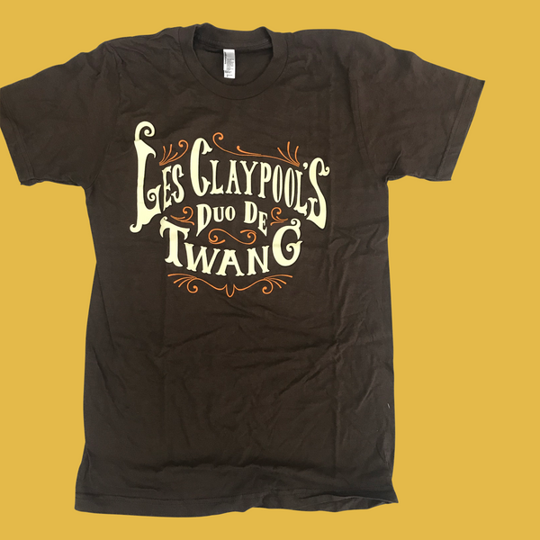 Duo De Twang - Logo T-Shirt (Brown)