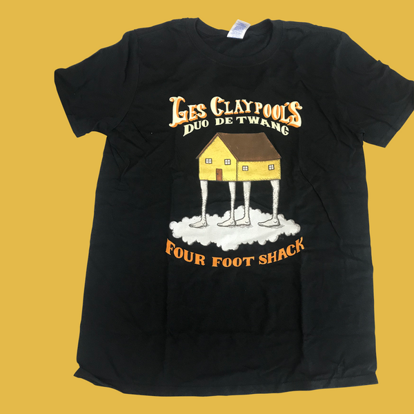 Duo De Twang - Four Foot Shack 2014 Tour T-Shirt
