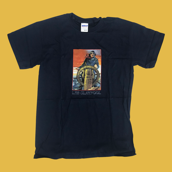 Les Claypool - Whales Navy T-Shirt Youth