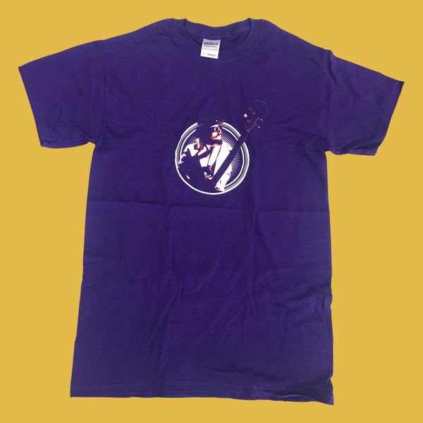 Les Claypool - Bass Burst T-Shirt (Purple)