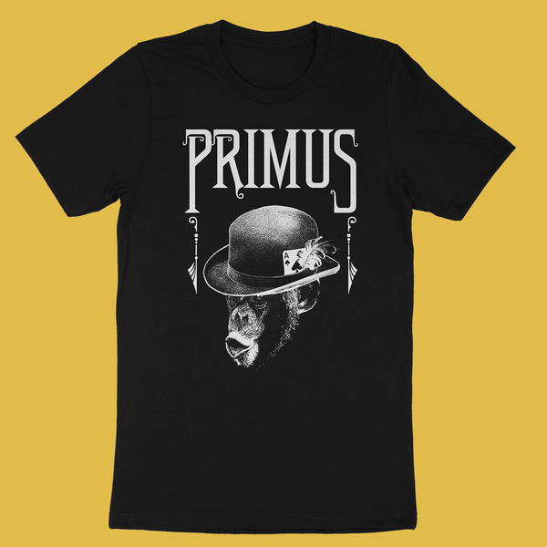 Primus - Monkey Black T-Shirt