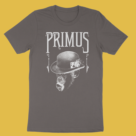Primus - Monkey Charcoal T-Shirt