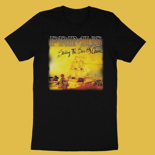 Primus - Sailing the Seas of Cheese T-Shirt