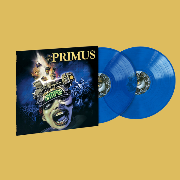 PRE-ORDER: PRIMUS - Antipop Translucent Blue 2LP (Limited Edition)