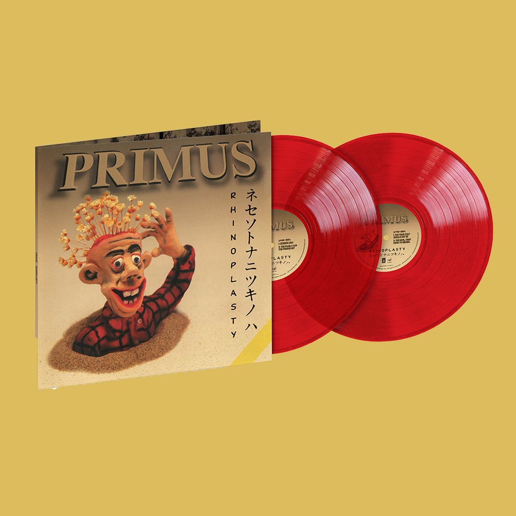 PRE-ORDER: PRIMUS - Rhinoplasty Translucent Red 2LP (Limited Edition)