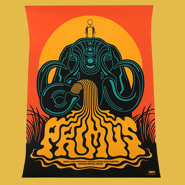 Primus - June 15, 2018 Bonner, KS Poster