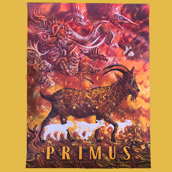 Primus - November 29, 2019 Billings, MT Poster