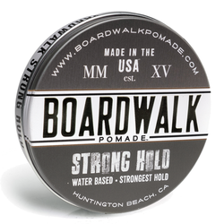 BOARDWALK Pomade Strong-Hold Pomade 4.5oz
