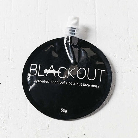 Blackout Activated Charcoal & Coconut Mask - 50g