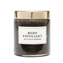 MULLEIN & SPARROW Coffee Body Exfoliant 4 oz