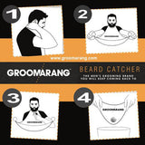 Groomarang Beard Catcher - Less Mess, Better Beard