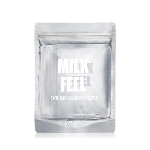 LAPCOS Milk Feel Exfoliating & Cleansing Pad (10 Pack)