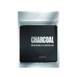 LAPCOS Charcoal Exfoliating & Cleansing Pad 5-Pack