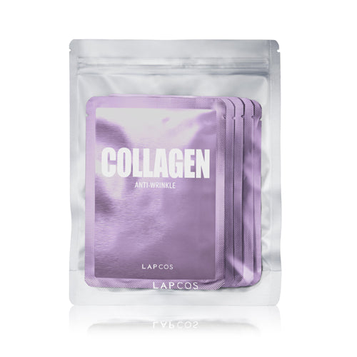 LAPCOS Daily Skin Mask Collagen 5 Pack